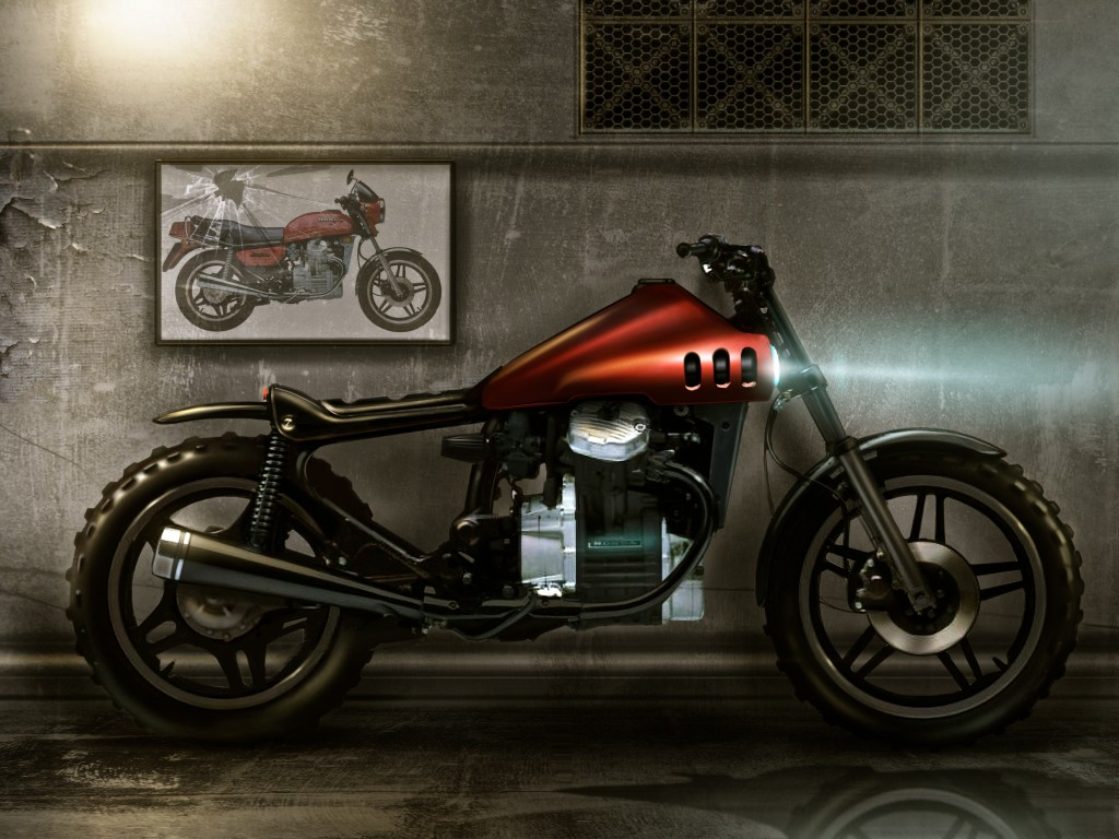 honda cx500 cafe racer turi cacciatore. Black Bedroom Furniture Sets. Home Design Ideas